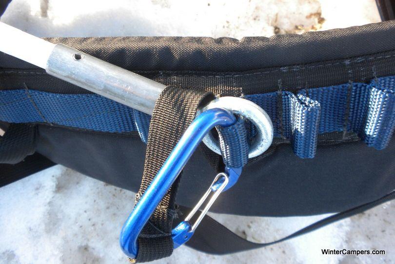 Eyelet to climbing rack for pulk   | Pulk | Wilderness
