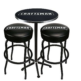 Craftsman Pub Table Two Stool Combo Bar Stools Pub Table And