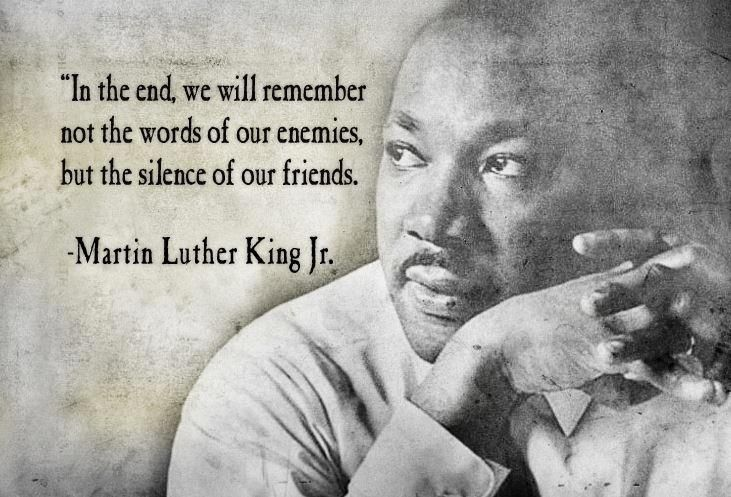 Mlk Quotes On Silence Quotesgram Martin Luther King Jr Quotes Mlk Quotes Friends Quotes