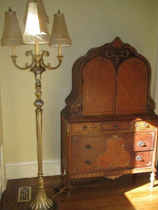 got this Sligh antique dresser circa 1920 at an estate sale. I love it. - Got This Sligh Antique Dresser Circa 1920 At An Estate Sale. I Love
