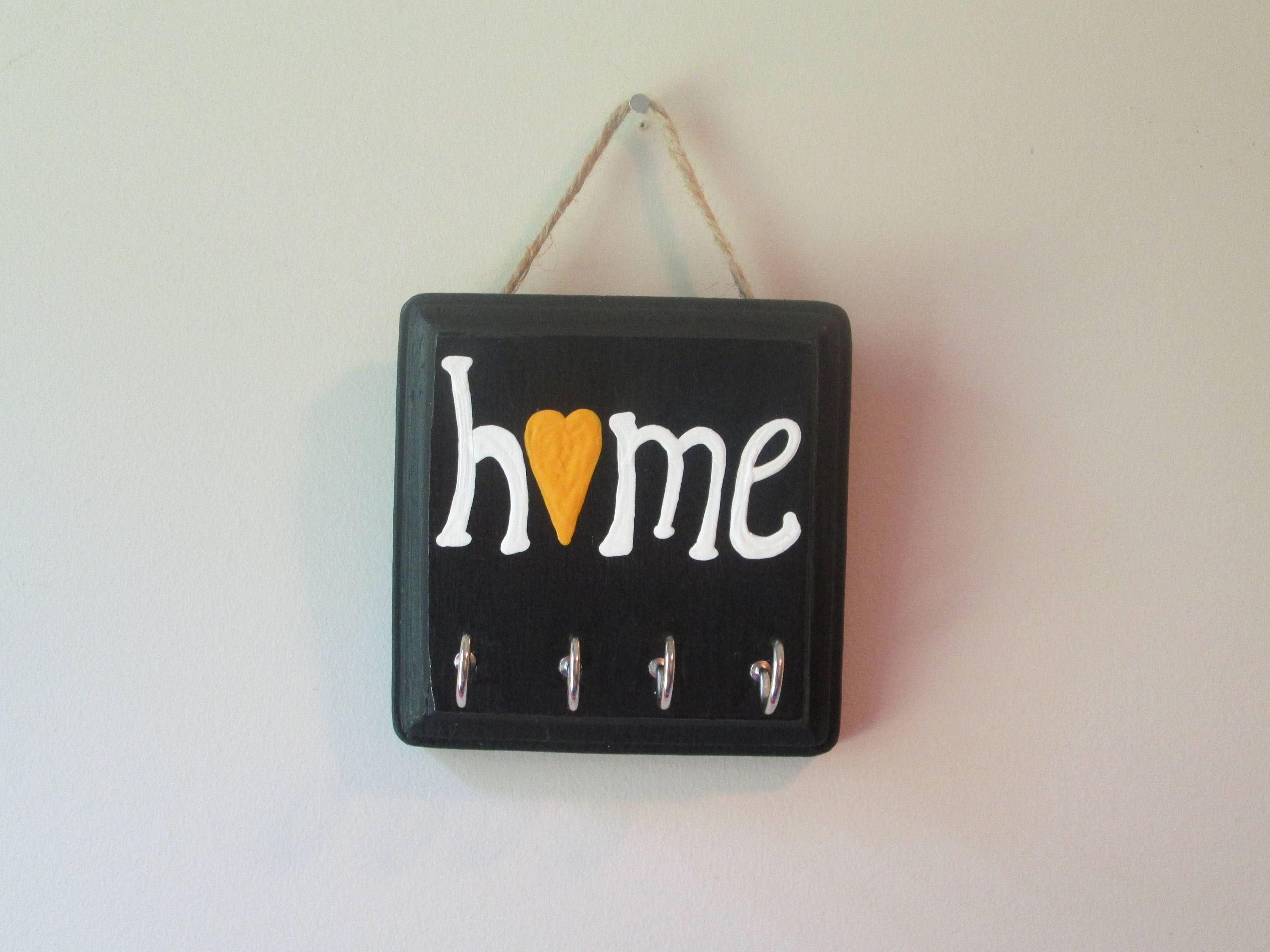 Key Holder For Wall Key Holder For Wall Hand Painted Home Key Hanger Wall Mount