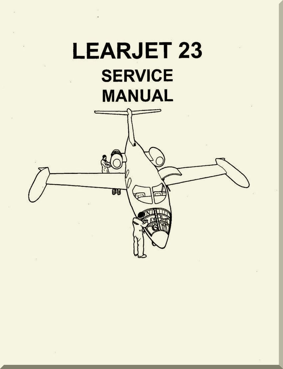 Learjet 23 Series Aircraft Service Manual - Aircraft Reports - Aircraft  Manuals - Aircraft Helicopter Engines Propellers Blueprints Publications