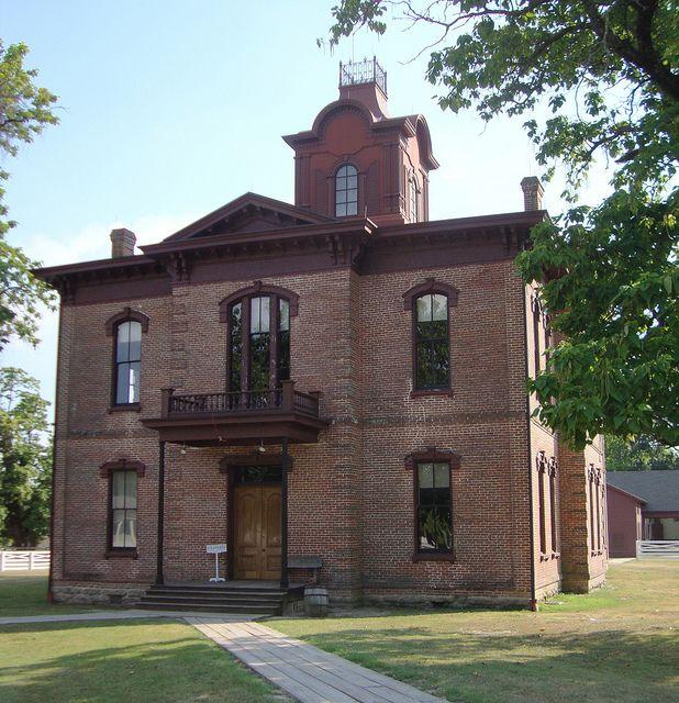 Old Hempstead County Courthouse Washington Arkansas Old