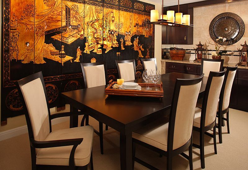 Asian Style Dining Rooms, Asian Style Dining Room Chairs