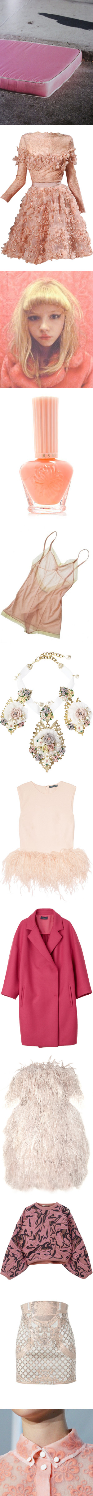 """""""Candyfloss"""" by headshapes ❤ liked on Polyvore"""