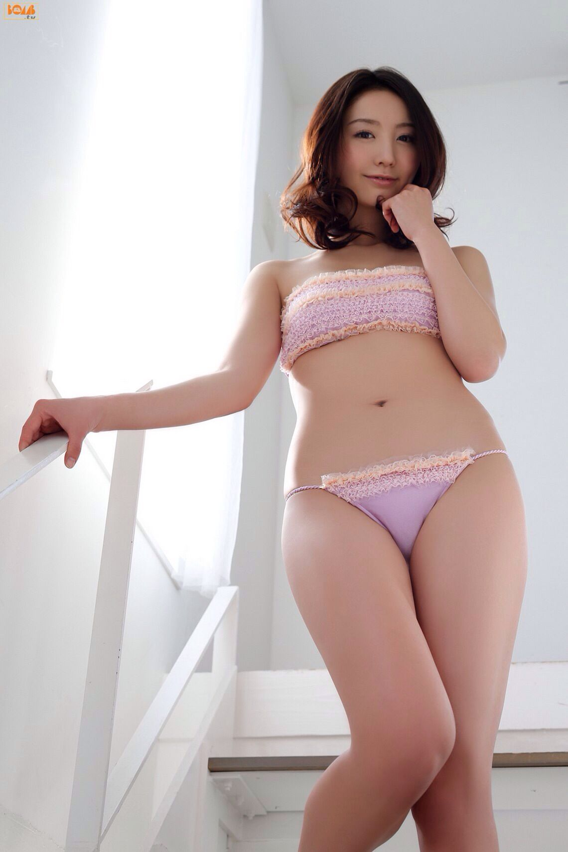 pink girl Asian panty