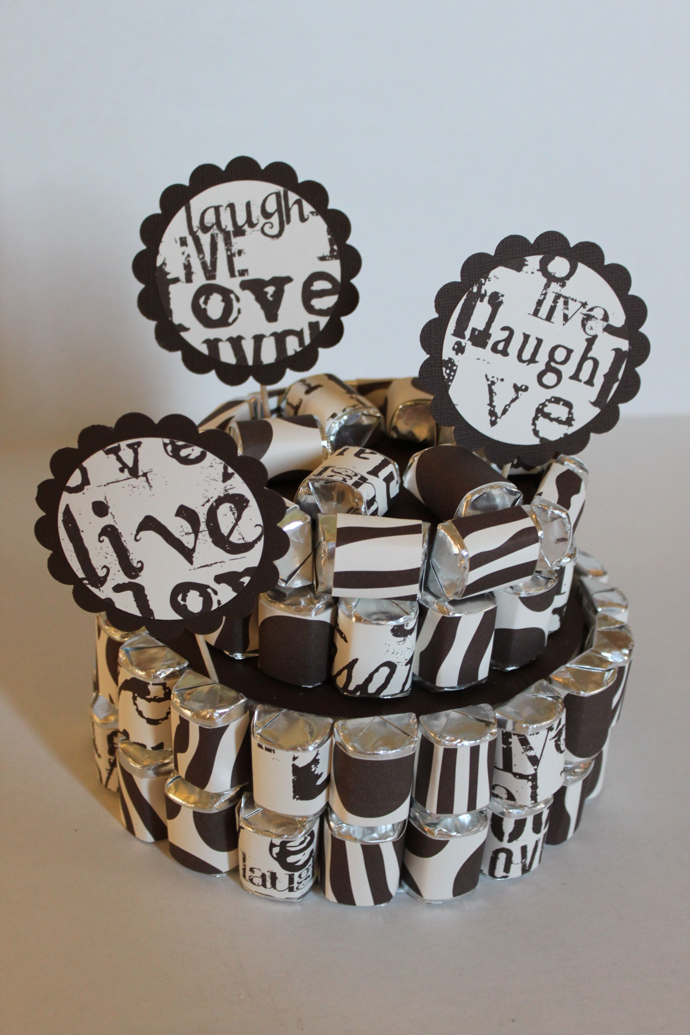 Canvas corp nugget cake candy crafts chocolate bouquet
