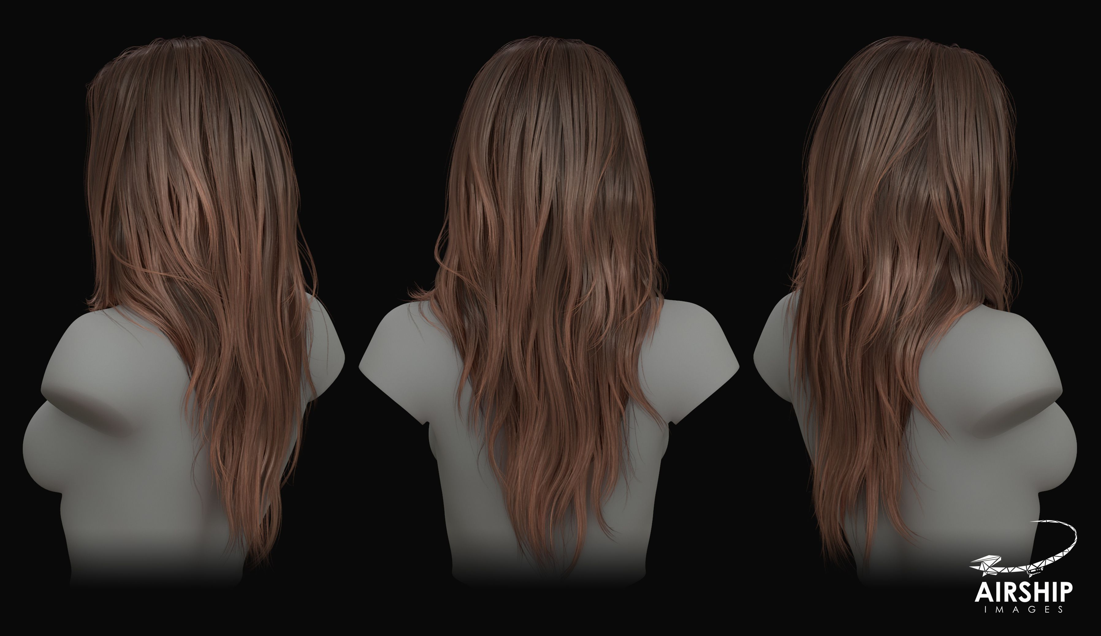 Creating Hair For Aaa Games Hair Reference Zbrush Hair Long Hair Styles
