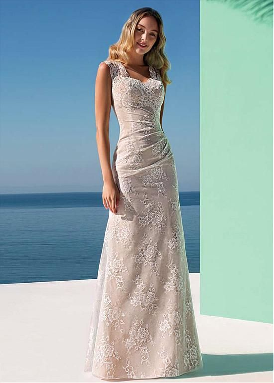 Buy discount Graceful Lace Sweetheart Neckline Sheath/Column Wedding ...