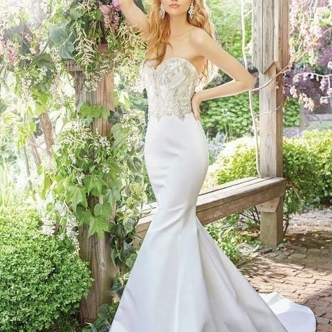 A fairytalewedding dress by @alvinavalenta will have your guest swooning as you walk down the aisle.