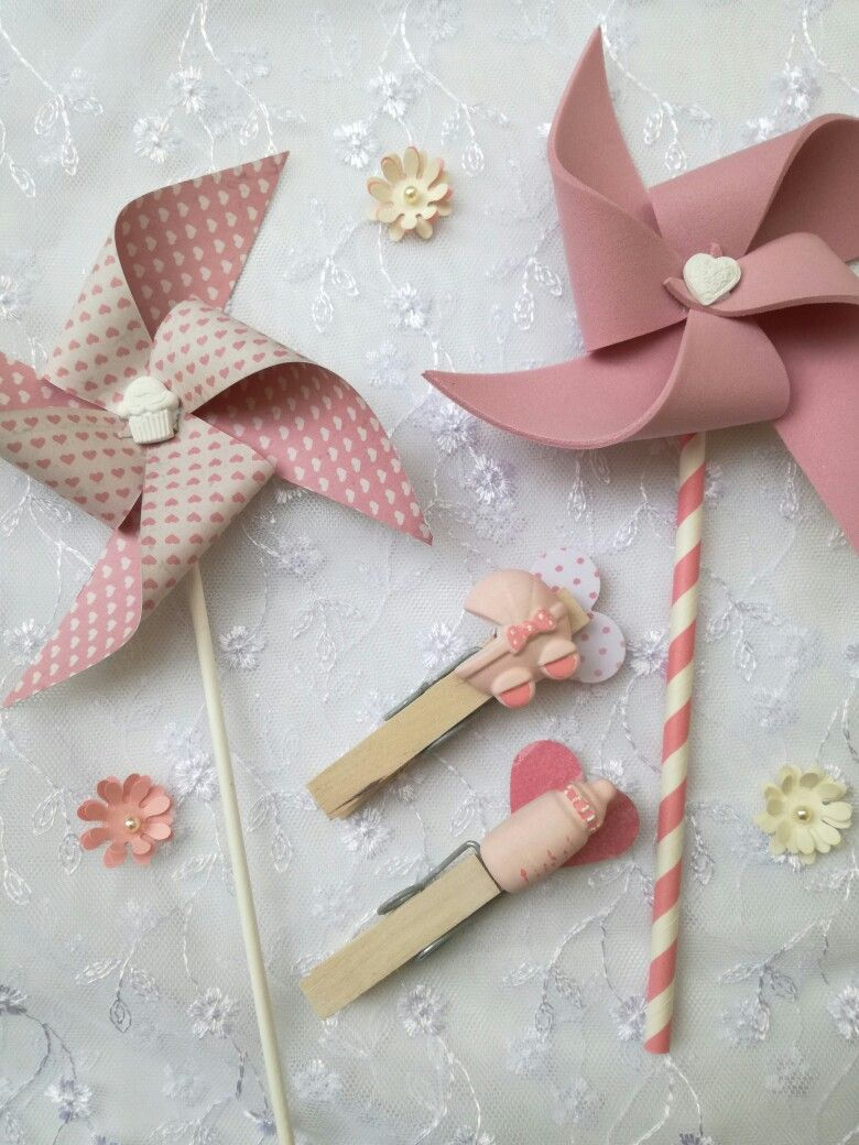 Eccezionale Girandole e mollette segnaposto Elicreashabby | baby | Pinterest  EC54