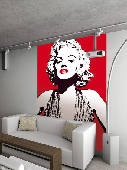 Marilyn Monroe Wall Mural Feature Wall Wallpaper Wall Wallpaper Wall Deco