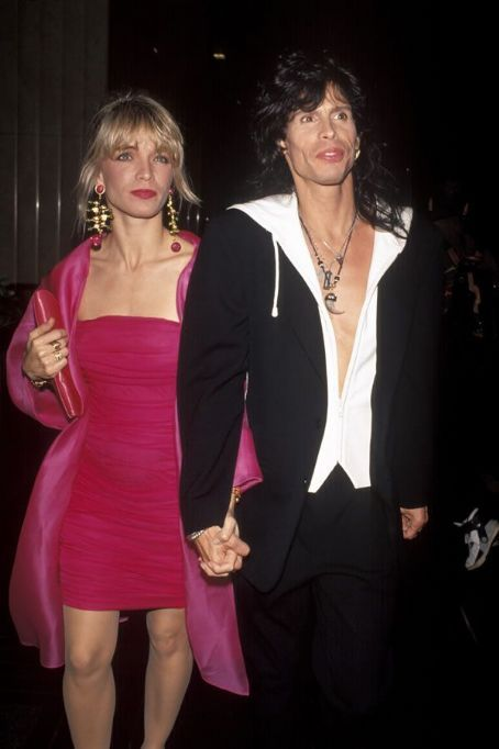 Teresa Barrick and Steven Tyler met in a recording studio in 1982