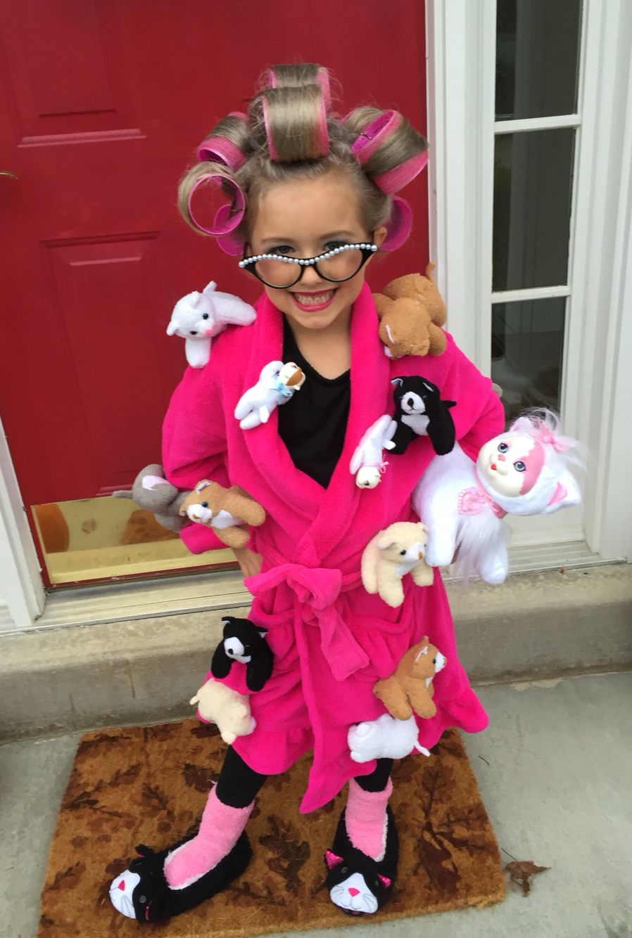 crazy cat lady halloween costume diy | thoroughly modern millie