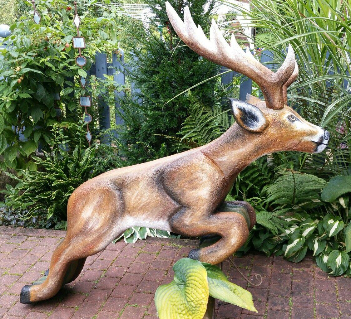 Springender Hirsch, 3D-Ziel für Bogenschützen aus Ethafoam 400, Bogenschießen