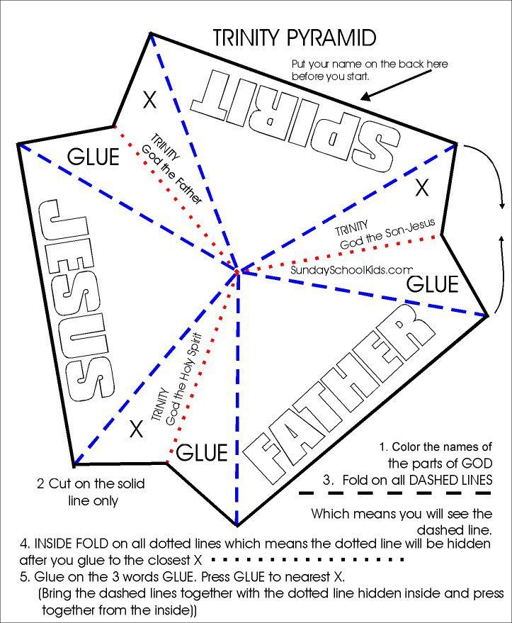 Trinity pyramid craft