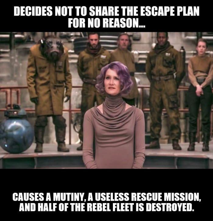 Overrated Leadership Skills 2 Star Wars Humor Star Wars Nerd Star Wars Memes