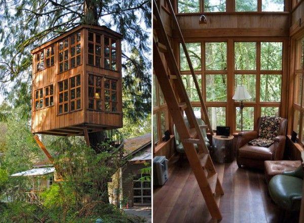 treehouse masters treehouse point. Treehouse Masters | Bed-and-breakfast Point. Left Photo: Courtesy Of Point