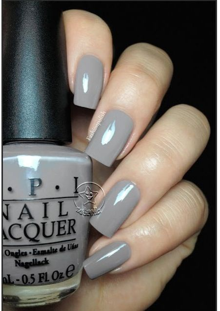 Opi Nail Polish 2017 Germany Collection Berlin There Done That Grey