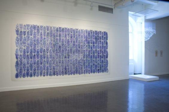 Byzantine Grid, by Nancy Friedmann-Sanchez