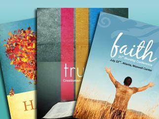 christian flyer templates