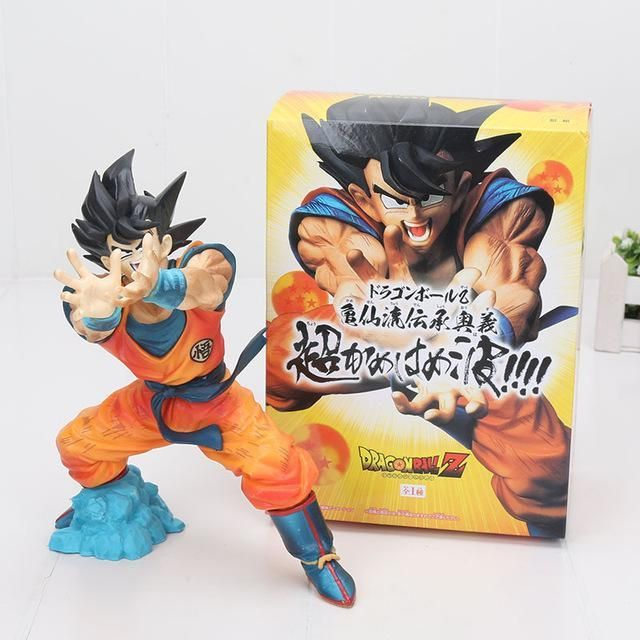 Action Figure Dragon Ball Z Kamekameha Son Goku Shock Wave Master