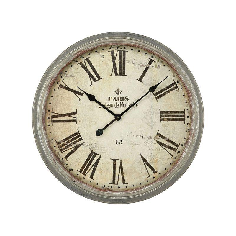 Chƒteau de Montautre Wall Clock