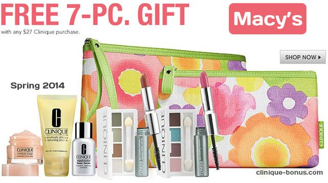This is bonus time at Macy's - Yours with $27 Clinique purchase ...