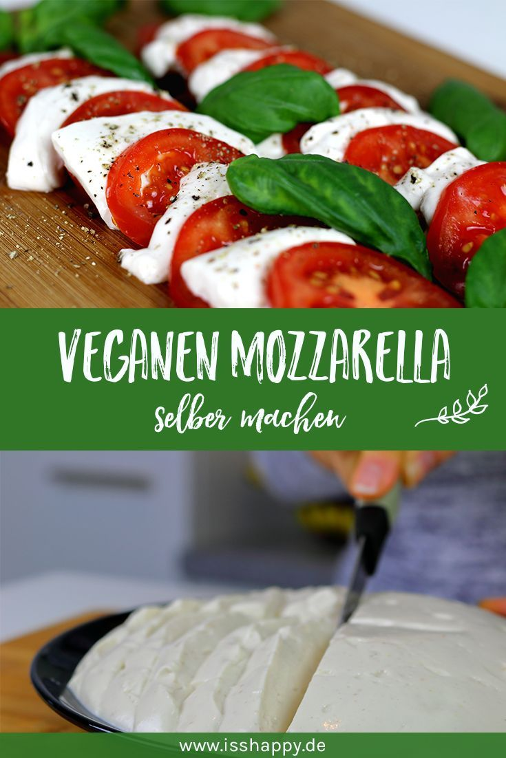 Photo of Make cashew mozzarella yourself – eat happy