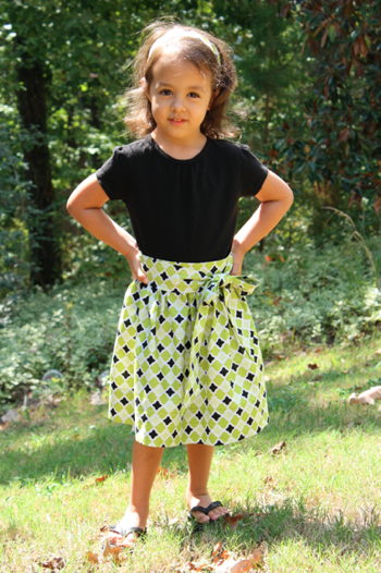 Toddler Tie Skirt | Sew Like My Mom FREE pattern and tutorial ...
