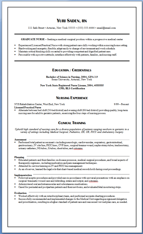 Oncology Nurse Resume Oncology Nurse Resume Templates  Httpwwwresumecareer
