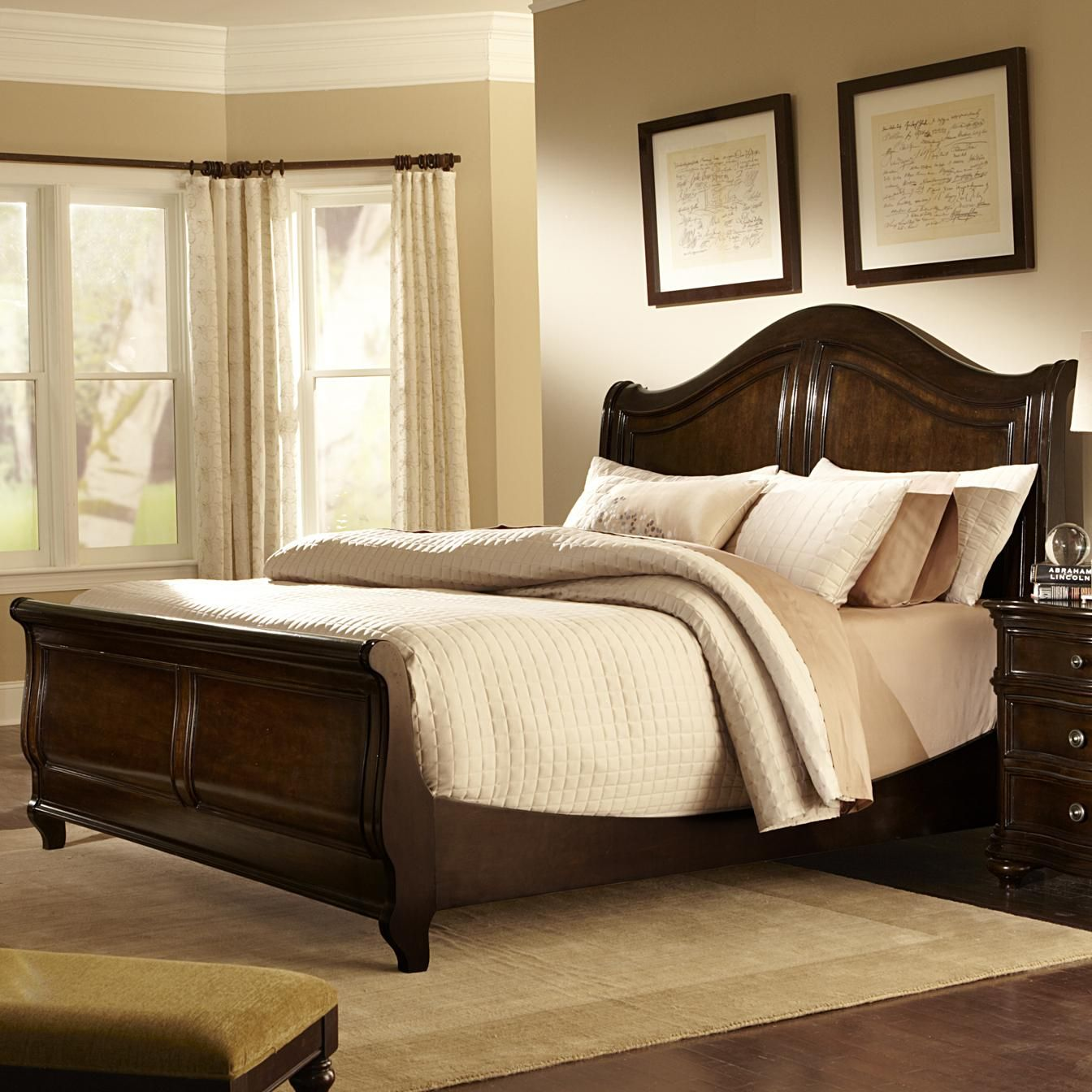 kingston plantation king sleigh bed by liberty furniture | home