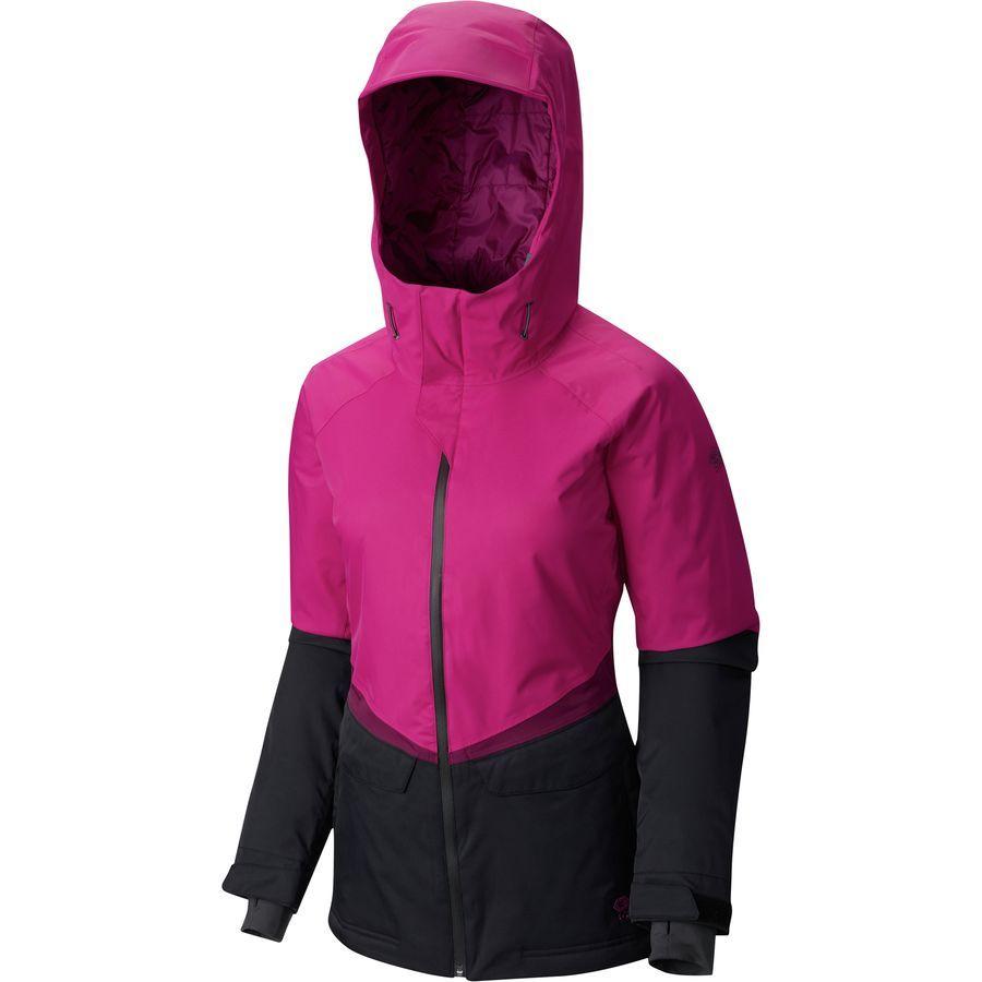 Mountain Hardwear Returnia Jacket - Women s Hood  7d339763a