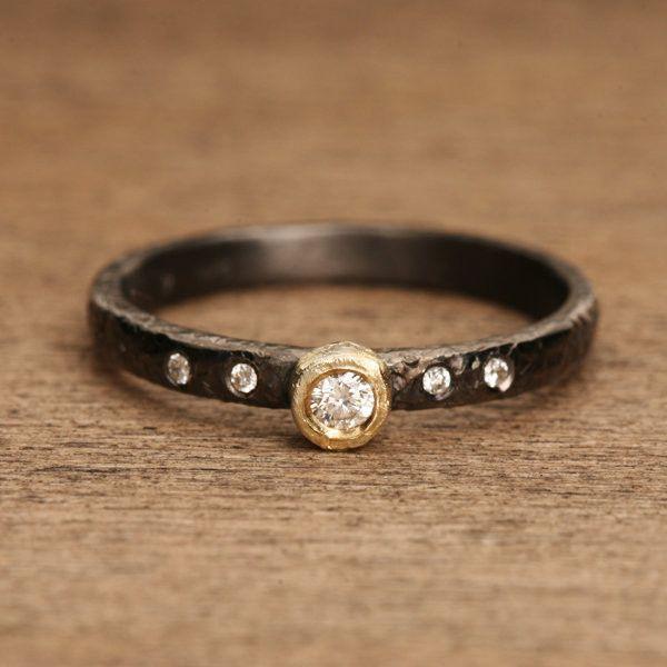 Black Rhodium Plated Ring White Gold Rings Emerald Earrings Studs Pink Moissanite Engagement Ring