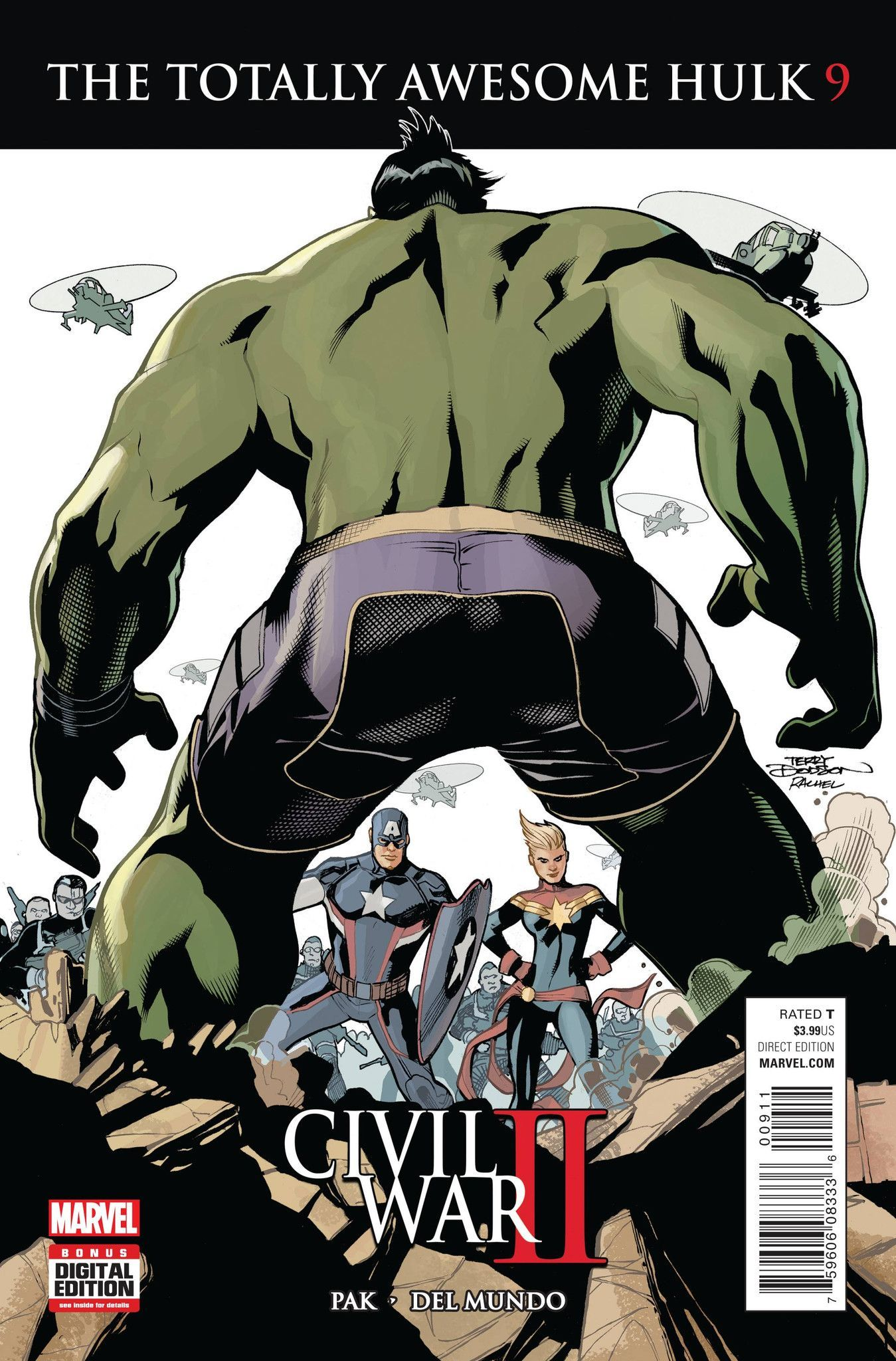 MARVEL COMICS (W) Greg Pak (A) Mike Del Mundo (CA) Terry Dodson CIVIL WAR II TIE-IN! • AMADEUS CHO has lost someone very close to him. Now he's mad. VERY MAD. No one would like him when he's very mad.