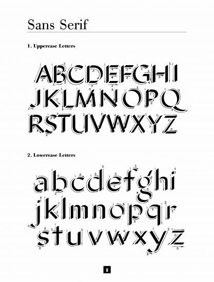 Learn calligraphy sans serif cool pinterest book Where to learn calligraphy