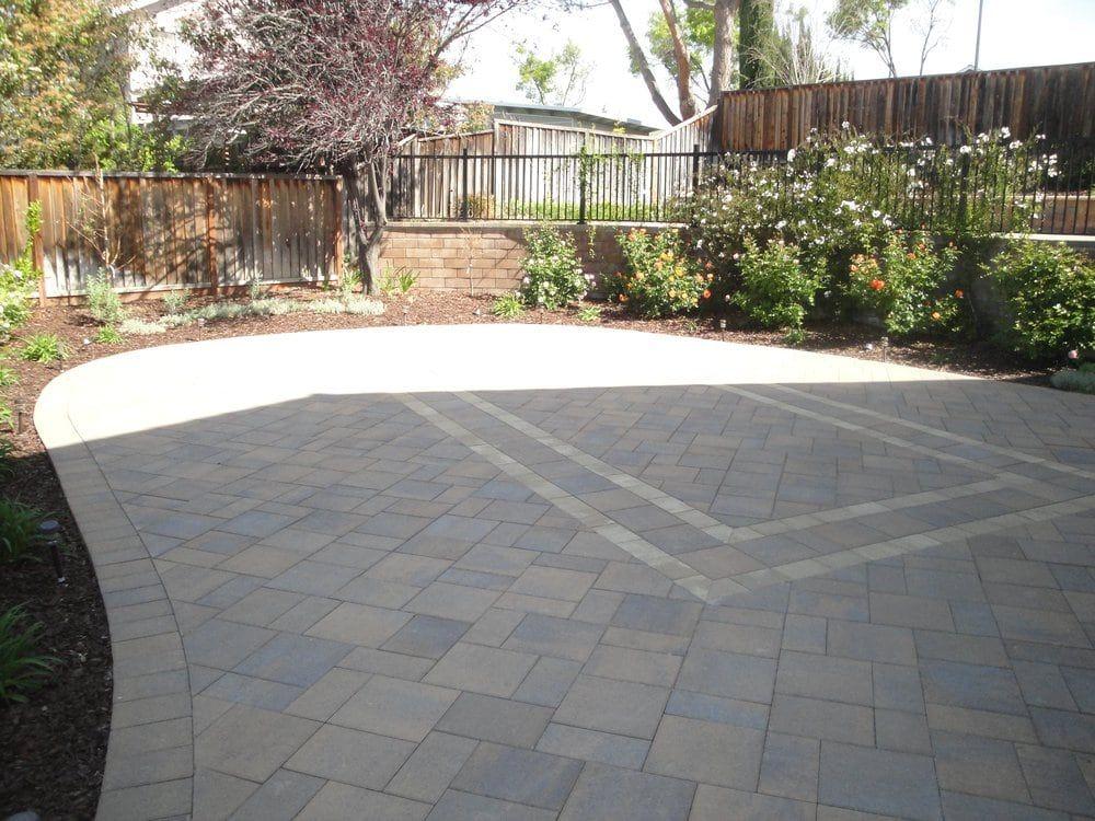 Photo Of Black Diamond Paver Stones Landscape San Mateo Ca United States Belgard Catalina Grana Paver In Landscape Plans Backyard Design Belgard Pavers
