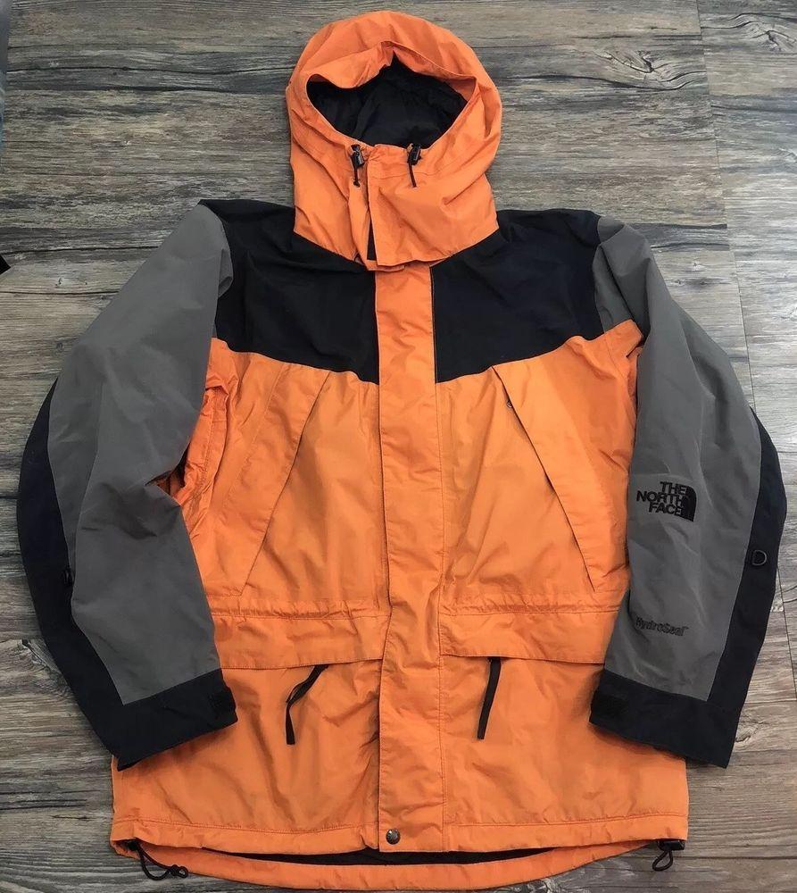 North Face Hydroseal Jacket Orange Sz Larfe 46d Ebay Men S Coats And Jackets Mens Sportswear Jackets [ 1000 x 893 Pixel ]