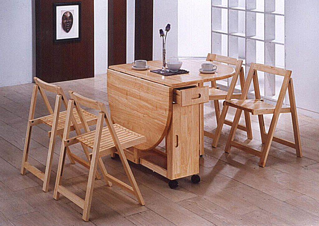 Pin By Ichsan Harja On For The Home Folding Kitchen Table Butterfly Dining Table Wooden Dining Tables