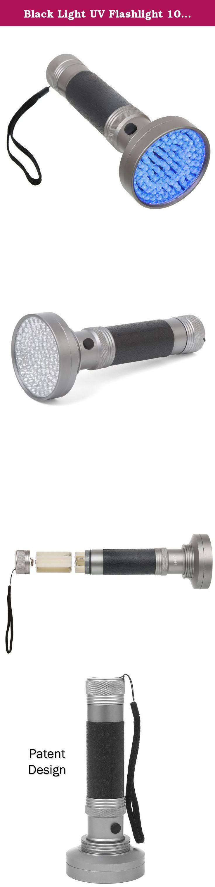 Black Light UV Flashlight 100 LED Blacklight Premium