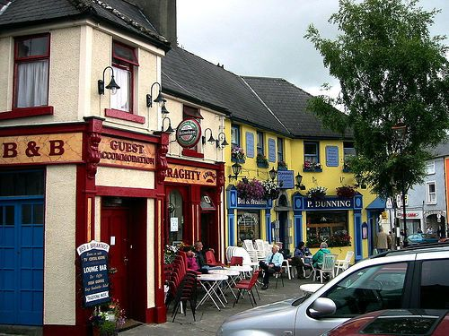Westport ireland.  Loved the little towns of Ireland....