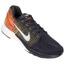 da55f5eab657e Zapatillas Nike Lunarglide 7 - Negro+Amarillo