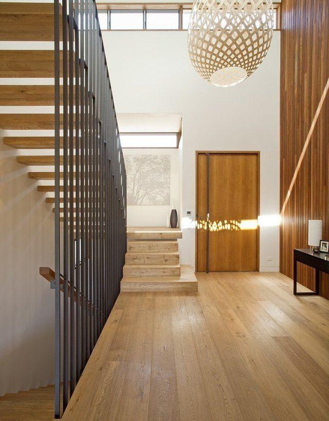 treppenhaus gestalten-innenarchitektur mit laminat-böden, Innenarchitektur ideen