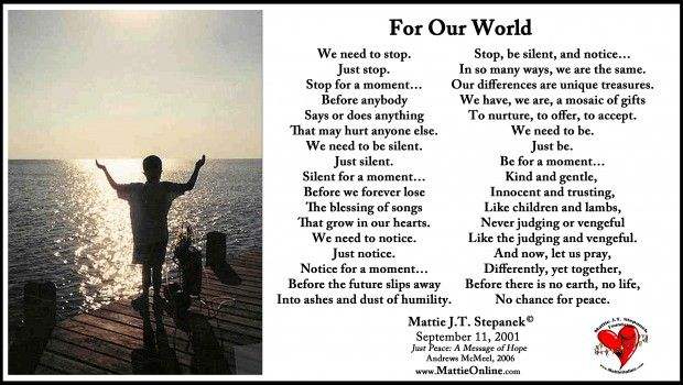 Mattie J T Stepanek Foundation Peace I Possible Beautiful Poetry Word Our World Youth Violence Essay