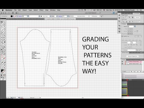 How to Grade up a Corset Pattern Draft to Fit the Client - YouTube ...
