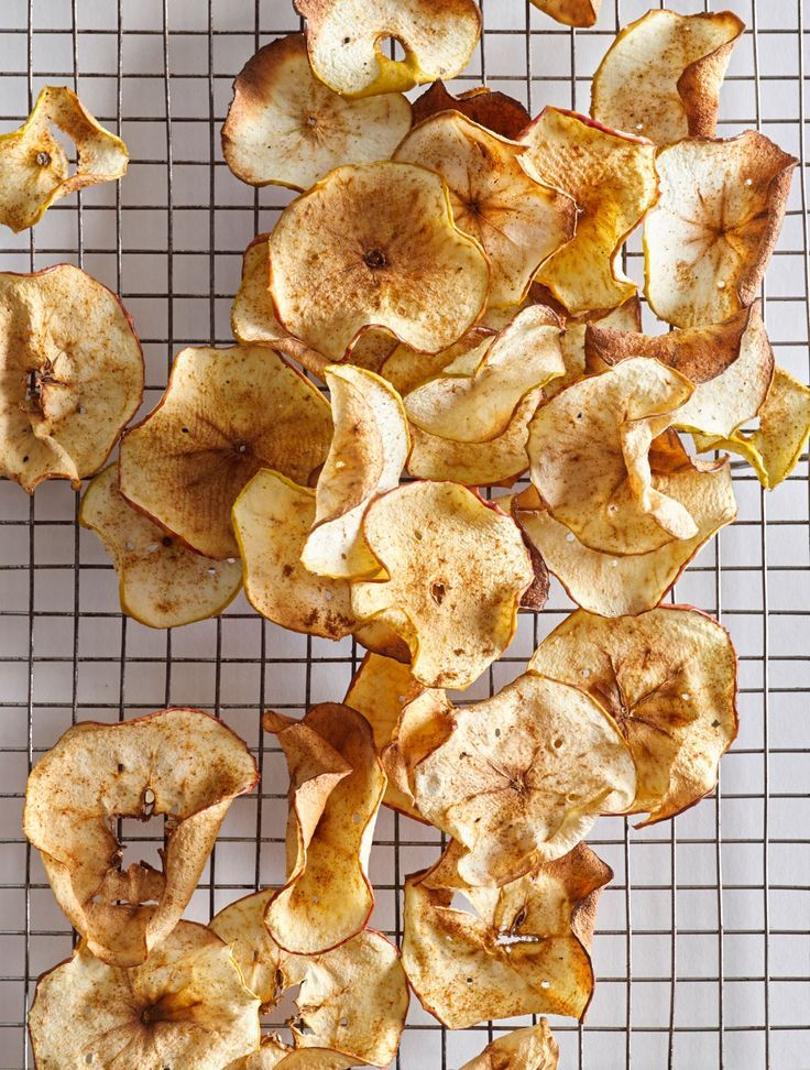 AirFried Apple Chips Recipe Air fryer recipes, Air