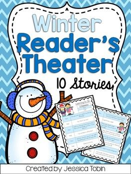 Reader S Theater Winter Activities For Reading Second Grade