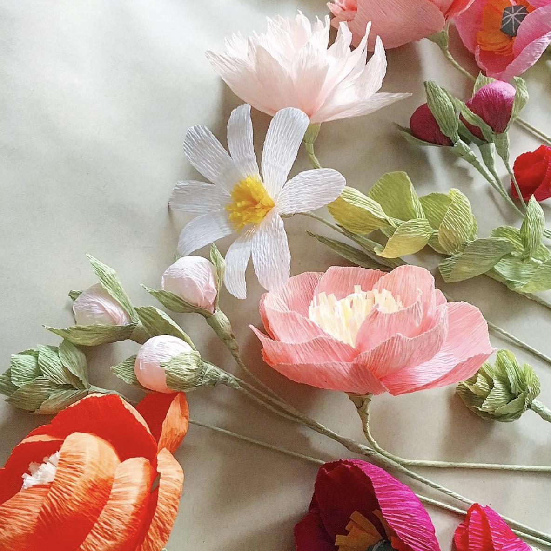 Paper Flowers by ttlepaperflowers   Valentín