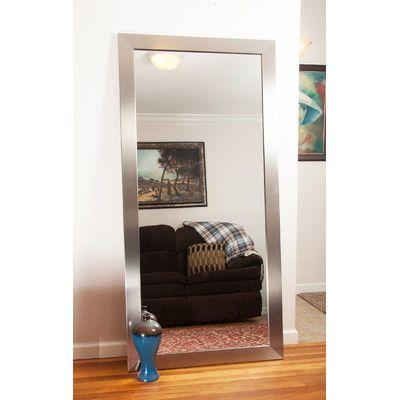 Found it at Wayfair Supply - Modern Silver Floor Mirror | Apartment ...