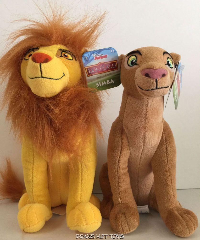 Disney Lion Guard Toys Small Plush SIMBA & NALA NWT